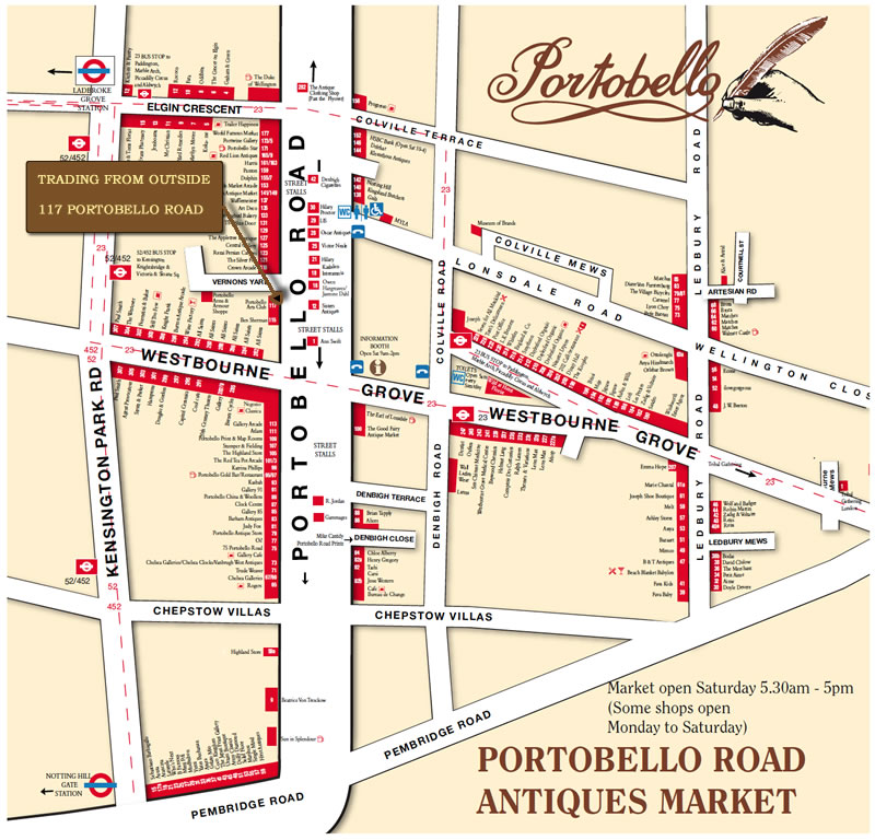 Antique Market – Portobello Road